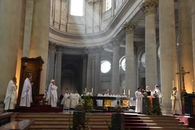 Messe chrismale à Arras, avril 2017.