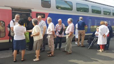 Au départ de la gare d'Arras ce jeudi 15 juin