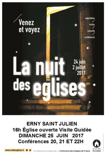 Erny st Julien nuit des églises 2017