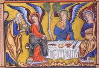 Abraham visité à Mamré 2