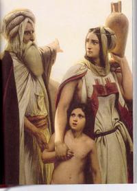 Abraham chasse Agar