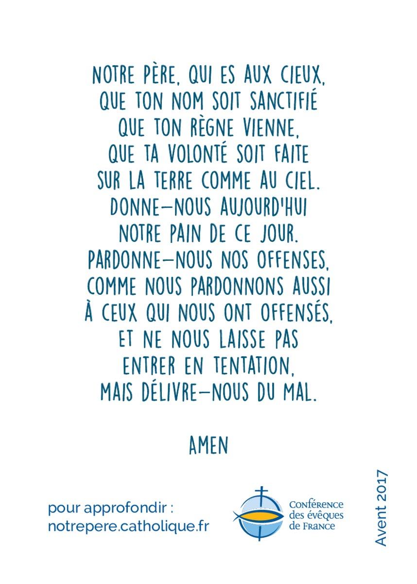 Häufig Nouvelle traduction du Notre Père LE45