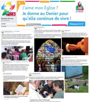 Exemple publications Facebook