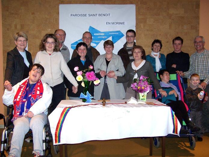 2010 groupe confirmands au Relais Ste C
