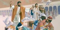 jésus chasse les marchands 2