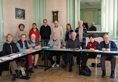 Les rédacteurs du fonds commun diocésain réunis à Arras - 2018