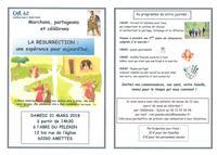 invitation marche de Paques 2018