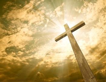 croix dans le ciel