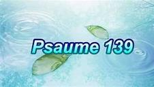 psaume 139