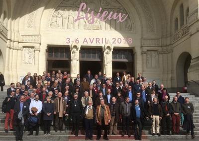2018-avril-Economes diocesains a Lisieux