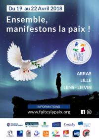 Affiche officielle Faites la paix