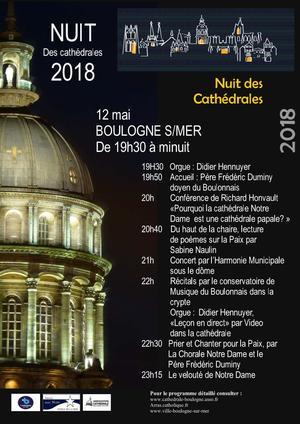 2018-5-12 - Nuit des cathedrales Boulogne-sur-Mer
