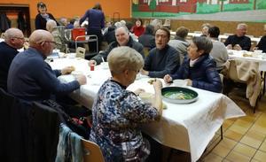 Repas partage a Nouvelle-Eglise
