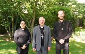Endry, Florentin et Mgr Jaeger