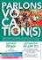 AFFICHE tract Parlons Vocation(s)