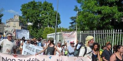 Marche pour les migrants de Vintimille à Calais