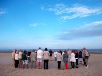 Priere sur le sable