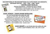 inscriptions cate st v de p