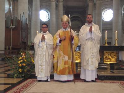Ordination Endry et Florentin