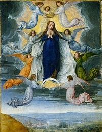 Ascension_of_the_virgin_Michel_Sittow