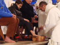 Le lavement des pieds de Antonin