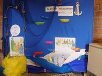 Le décor créé par les enfants