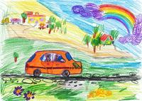 voyage-de-chien-sur-l-automobile-dessin-d-enfant-7