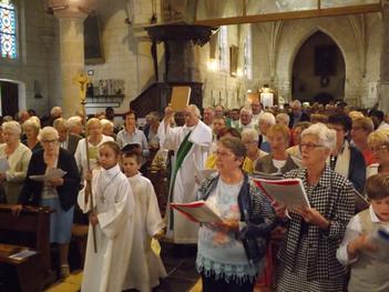messe action de grâce Père Auguste18.08.18