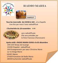 RADIO MARIA IMAGE BON