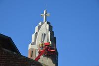le clocher de l'eglise