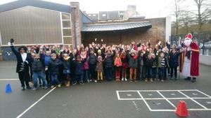 Visite Saint Nicolas écoles primaires catholiques