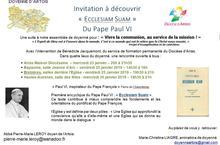 invitation Ecclesiam Suam