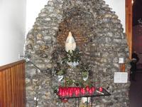 Autel de la vierge Marie