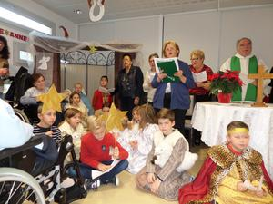 Messe de Noel a l'EHPAD