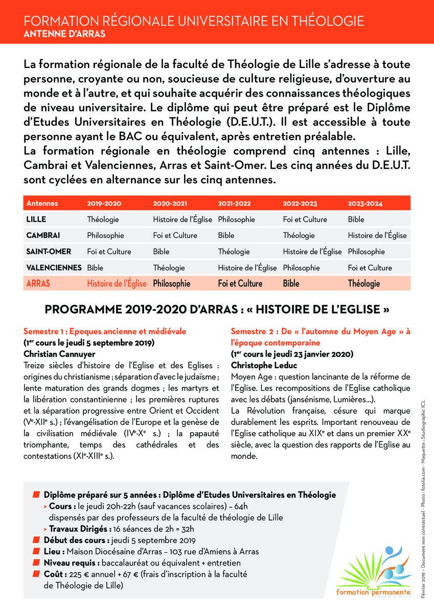F%C3%83TES CATHOLIQUES 2020 2021 ET 2022   FORTUL Arras 2019 2020