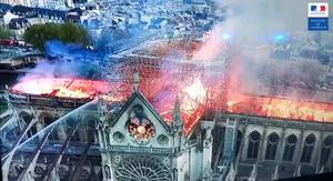 2019-4-15-Incendie Notre-Dame de Paris (vue Minist