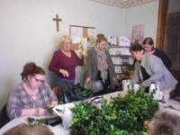 Mission ouvriere Confection de bouquets pour l'EHP