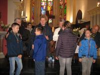 remise des croix à Barlin