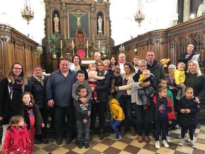 Baptises et leur famille