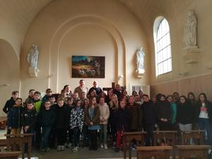 Temps fort pour les enfants de St Bertin