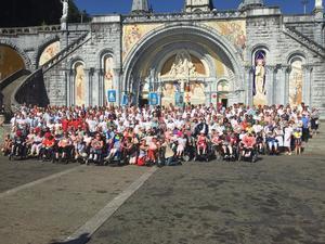 2018-8-3-Pelerinage Lourdes