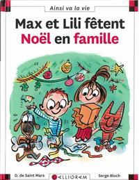Max et Lili fetent Noel en famille