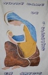 logo paroisse NDE