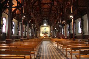 Eglise Berck - Crédit photo eglises ouvertes et Commission diocésaine d'art sacré