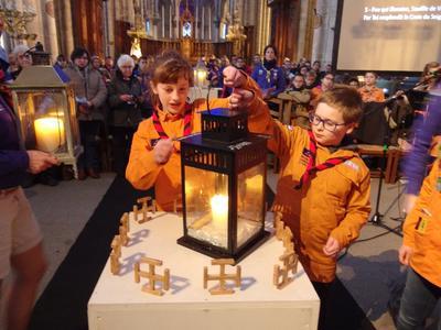 Lumière de Bethléem Saint Omer 2019 6