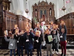 Remise des Evangiles a Audruicq