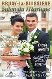 affiche salon du mariage 2020