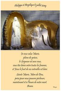 Mariage je vous salue Marie