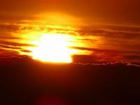 soleil levant sur wisques