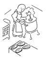 frère cuisinier